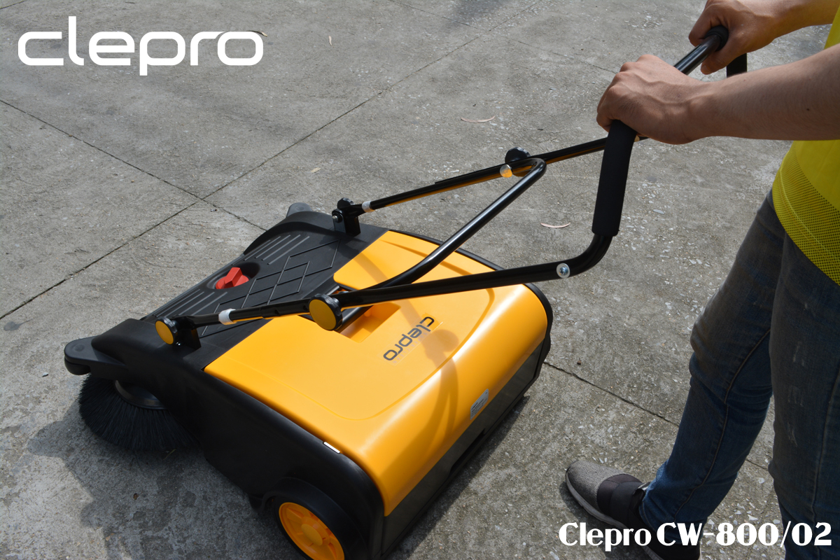 Clepro CW-800/02 xe quet rac day tay